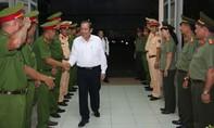 Phó Thủ tướng thường trực Trương Hòa Bình đến chúc tết công an Q. Tân Bình trước thềm năm mới