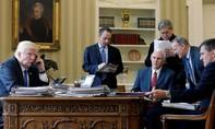 Tổng thống Trump và Putin điện đàm gần một giờ