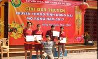 Nhộn nhịp giải đua thuyền truyền thống trên sông Đồng Nai