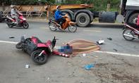 Xe ben cán thương vong 2 người trên cung đường 'tử thần'