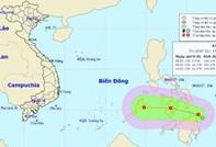 Áp thấp nhiệt đới đầu tiên năm 2017 vào Biển Đông