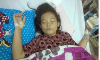 Bé gái 13 tuổi bị dị dạng mạch máu não cần giúp đỡ