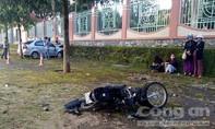 Xe ô tô tông xe máy, nữ cán bộ Cục thi hành án tỉnh nguy kịch