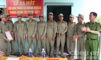 Đội dân phòng xe ôm phòng chống tội phạm tại Long An