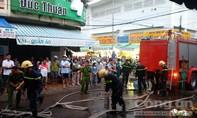 Cháy nhà gần chợ Phan Thiết
