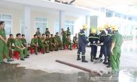 Khánh Hoà: Kiểm tra nghiệp vụ chữa cháy và cứu nạn cứu hộ năm 2017