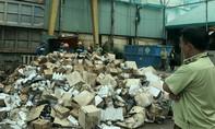 TP.HCM tiêu huỷ gần 50 tấn hàng lậu, không rõ nguồn gốc