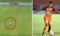 Cầu thủ Indonesia nổi tiếng thế giới vì pha bứt tốc nhanh như... Usain Bolt