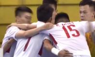 Đánh bại Myanmar, futsal Việt Nam giành ngôi đầu
