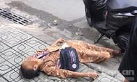 Cụ bà bán vé số bị xe máy tông tử vong ở Sài Gòn