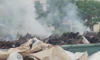 Bắt cơ sở thu gom rác thải đốt trái phép, gây ô nhiễm môi trường
