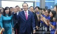 Chủ tịch nước Trần Đại Quang thông báo kết quả Hội nghị Lãnh đạo APEC