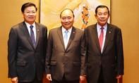 Thủ tướng Việt Nam, Lào, Campuchia gặp gỡ bên lề ASEAN-31