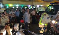 Tài xế say xỉn lái ô tô trốn CSGT gây náo loạn đường phố