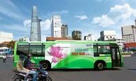 Thu hơn 160 tỷ đồng nhờ đấu giá quảng cáo trên thân xe buýt