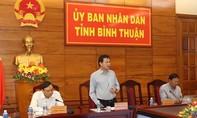 Bình Thuận phát lệnh cấm biển