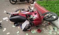 Thiếu tá CSGT bị xe máy kẹp 3 đâm đã hy sinh