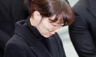 Vợ chưa cưới khóc nức nở trước di quan của nam diễn viên Kim Joo Hyuk