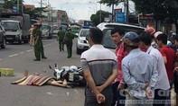 Tránh xe khách, 1 người bị container cán qua người tử vong tại chỗ