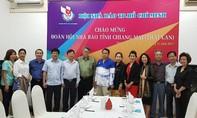 Đoàn Hội Nhà báo tỉnh Chiang Mai thăm Hội Nhà báo TP.HCM
