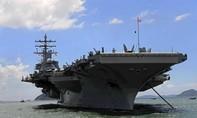 Máy bay hải quân Mỹ rơi xuống biển khiến 3 người mất tích