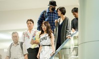 Diệp Lâm Anh tự lái xế hộp sang trọng đón So Ji Sub về khách sạn
