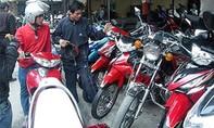 Công an quận 8 tìm chủ sở hữu nhiều xe máy