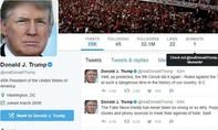 Nhân viên Twitter 'vô tình' xóa tài khoản của Tổng thống Donald Trump