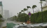 Bão số 12 đang càn quét Phú Yên, Khánh Hoà