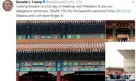 Tổng thống Trump gây ngạc nhiên khi có thể dùng Twitter thoải mái ở Trung Quốc