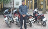 Bắt đối tượng từ Nghệ An sang Hà Tĩnh gây ra hàng chục vụ trộm xe máy