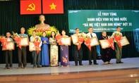 """Truy tặng danh danh hiệu """"Bà Mẹ Việt Nam Anh hùng"""" cho 18 Mẹ"""