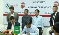 Liên đoàn bóng đá TP ký kết phát triển các giải bóng đá trẻ tại TP.HCM