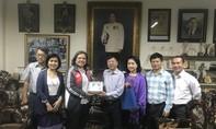 Hội Nhà báo TPHCM thăm báo THAINEWS
