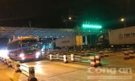 Trạm thu phí Cai Lậy âm thầm hoạt động lại trong đêm