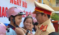 Ngày hội 'An toàn giao thông - Bé vui đến trường'