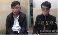 Hai thanh niên thủ dao, súng đi đòi nợ sa lưới đặc nhiệm