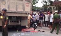 Bị xe ben cán qua, người đàn ông tử vong tại chỗ