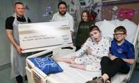 Wayne Rooney quyên góp 1 triệu USD cho từ thiện