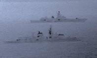 Anh 'căng mắt' dõi theo tàu chiến Nga ở Biển Bắc
