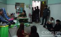 Nhóm nam nữ thanh niên 'phê' ma túy trong nhà trọ