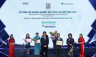 Suntory PepsiCo Việt Nam nhận giải thưởng Top 10 Doanh nghiệp bền vững