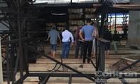 Cháy công ty chế biến mủ cao su, thiệt hại 500 triệu đồng