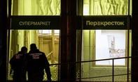 Nổ bom tự chế ở siêu thị Nga,10 người bị thương
