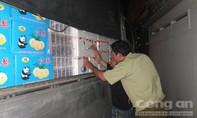 CSGT bắt xe tải chở gần 3 tấn trái cây Trung Quốc