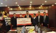 Vietlott trao hơn 31 tỷ đồng cho khách hàng đến từ Hà Nội
