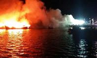 Hoản hoạn thiêu rụi 3 tàu cá, thiệt hại 30 tỷ đồng