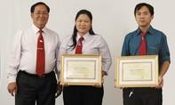 Vinasun taxi nhận giấy khen cho tập thể và các nhân có thành tích trong hoạt động GTVT năm 2016