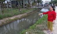 Quảng Ngãi: Phát hiện xác bé gái trôi dưới kênh nước