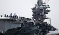 Nhóm tàu sân bay Mỹ bắt đầu tiến xuống Biển Đông tuần tra